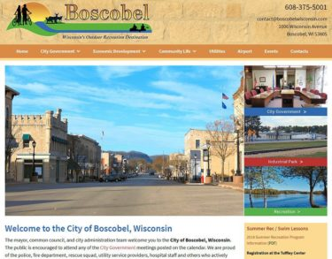 City of Boscobel, Wisconsin